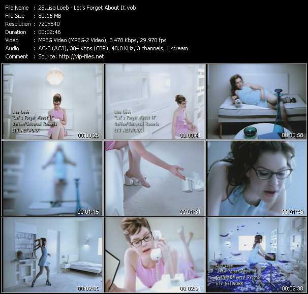 Lisa Loeb video screenshot