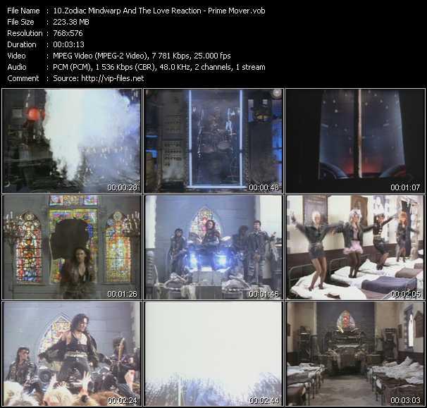 Zodiac Mindwarp And The Love Reaction video screenshot