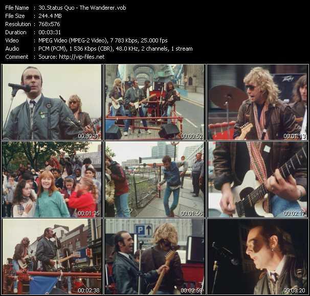 video The Wanderer screen