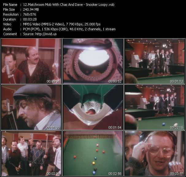 Matchroom Mob With Chas And Dave video screenshot