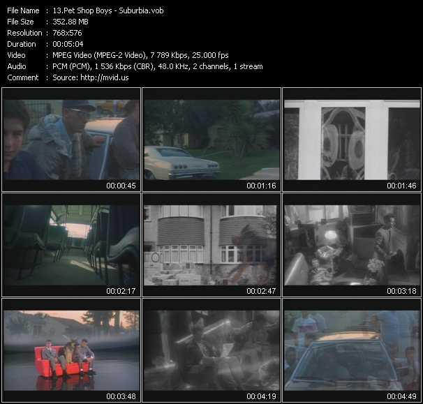 video Suburbia screen