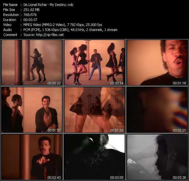 Lionel Richie video screenshot