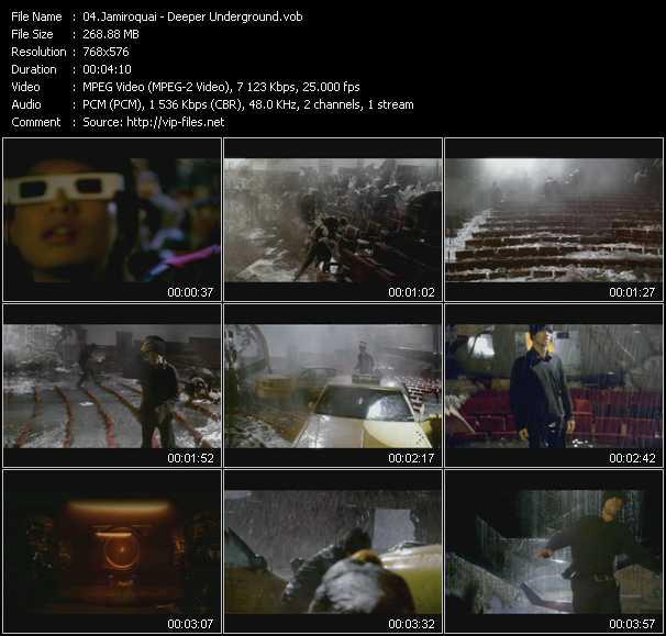video Deeper Underground screen