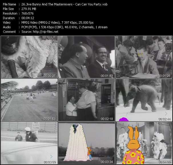 Jive Bunny And The Mastermixers video screenshot