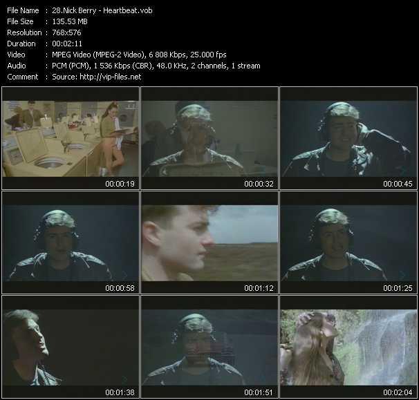 Nick Berry video screenshot