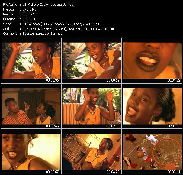 Michelle Gayle video screenshot