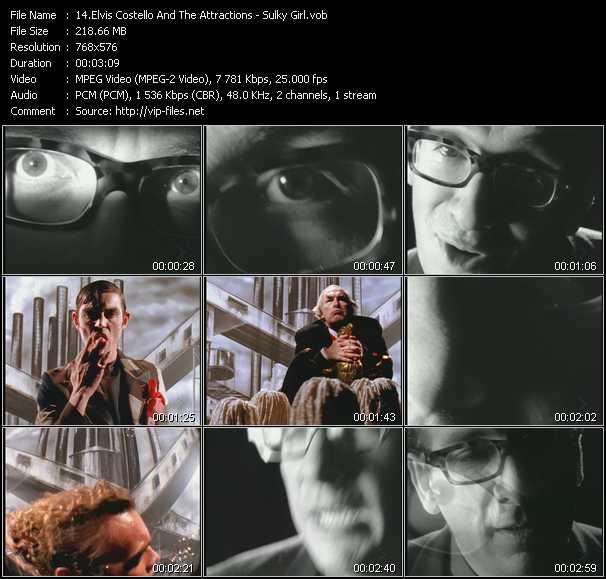 Elvis Costello And The Attractions video screenshot