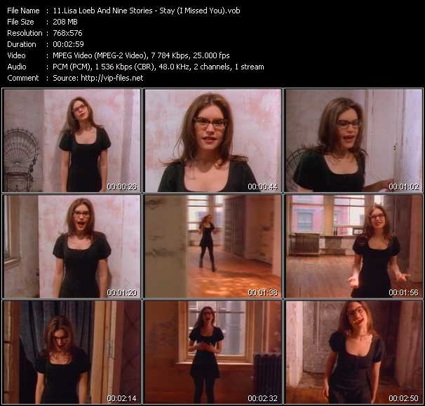 Lisa Loeb And Nine Stories video screenshot