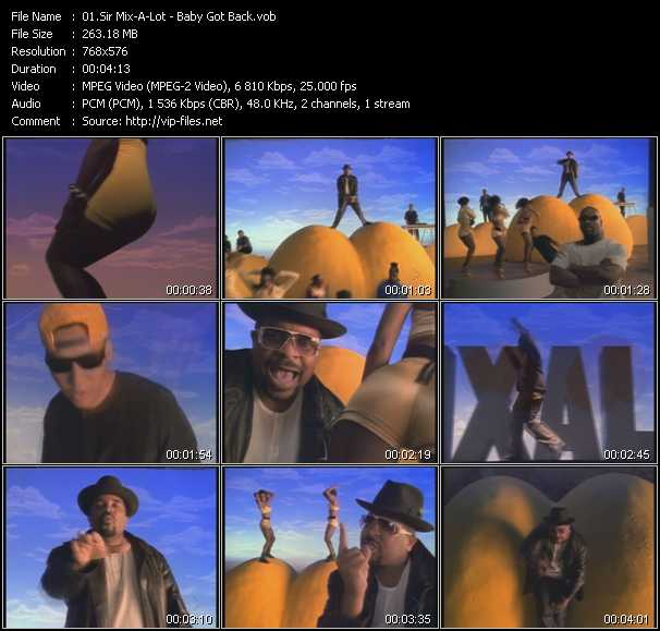 Sir Mix-A-Lot video screenshot