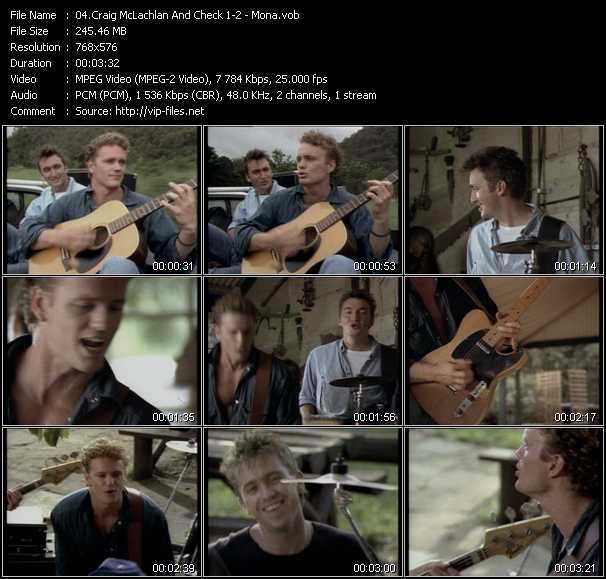 Craig McLachlan And Check 1-2 video screenshot