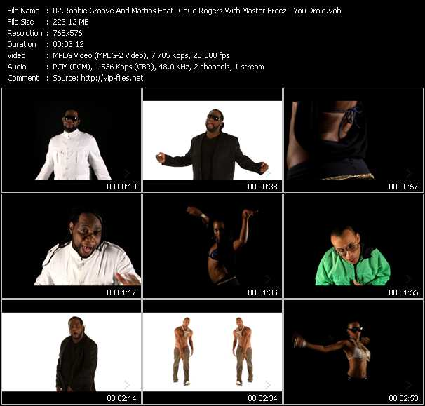 Robbie Groove And Mattias Feat. CeCe Rogers With Master Freez video screenshot