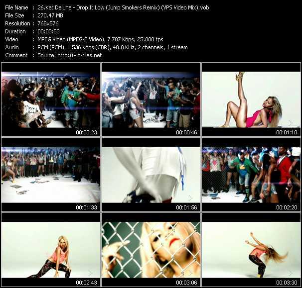 Kat DeLuna video screenshot
