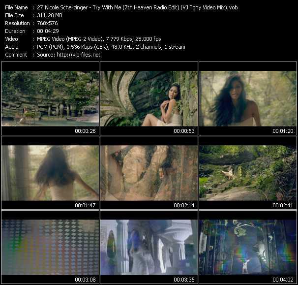 Nicole Scherzinger video screenshot