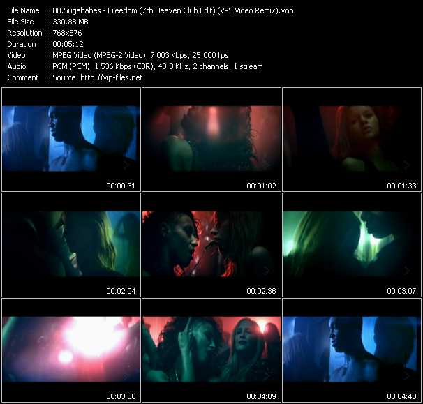 video Freedom (7th Heaven Club Edit) (VPS Video Remix) screen