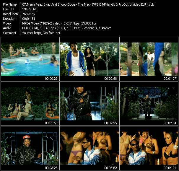 Mann Feat. Iyaz And Snoop Dogg video screenshot