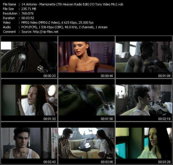 Antonia video screenshot