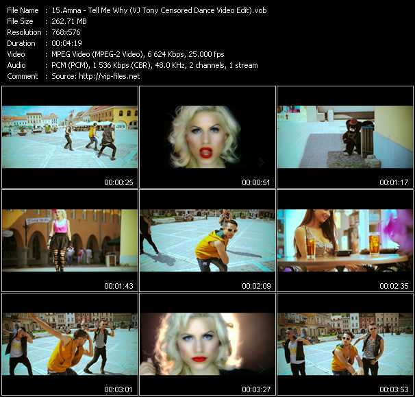 Amna video screenshot