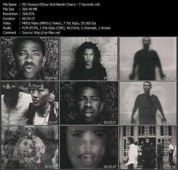 Neneh Cherry And Youssou N'Dour video screenshot