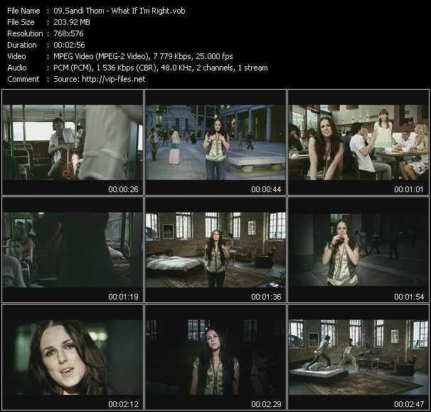 Sandi Thom video screenshot