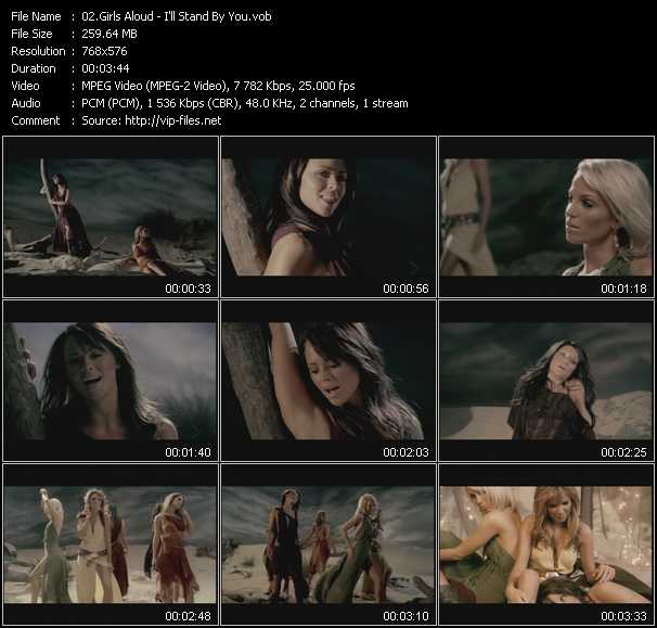 video I'll Stand By You screen