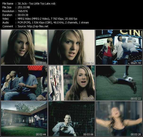 JoJo video screenshot