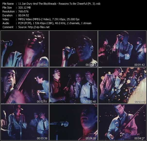 Ian Dury And The Blockheads video screenshot