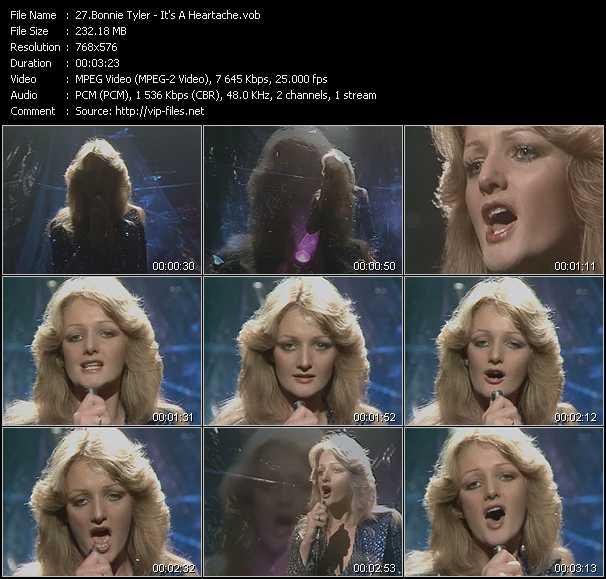 Bonnie Tyler video screenshot