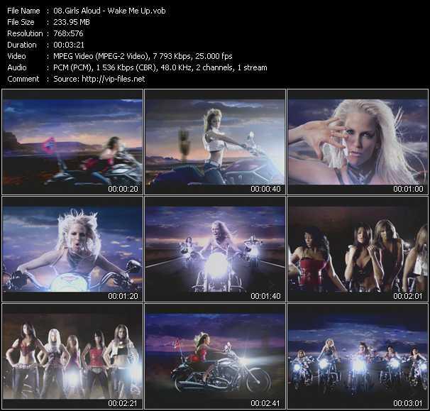 video Wake Me Up screen
