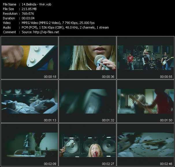 Belinda video screenshot