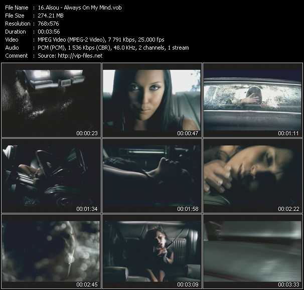 Alsou video screenshot