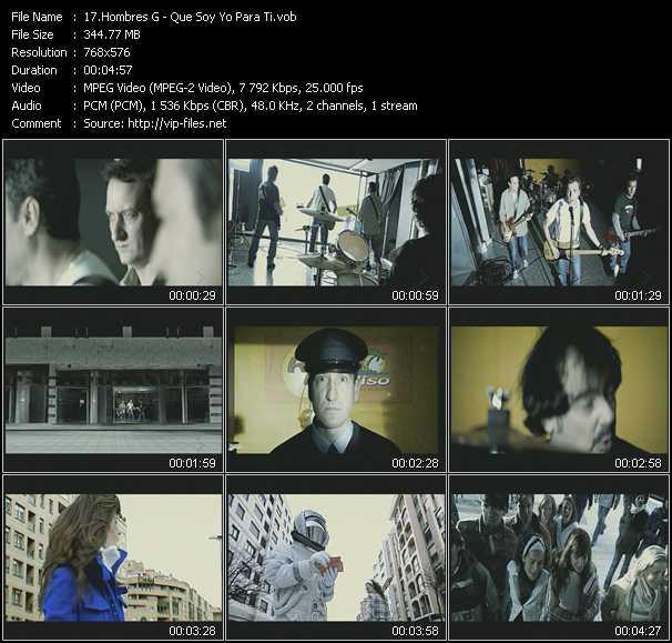 Hombres G video screenshot