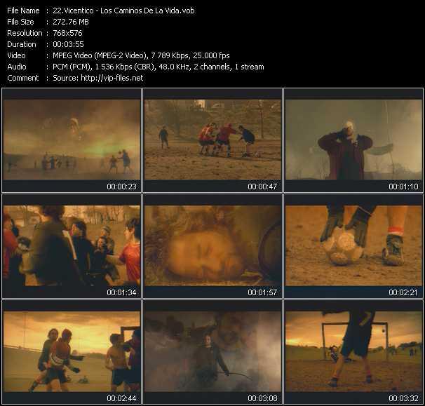 Vicentico video screenshot