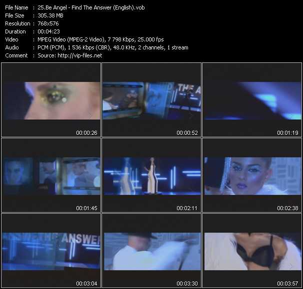 Be Angel video screenshot