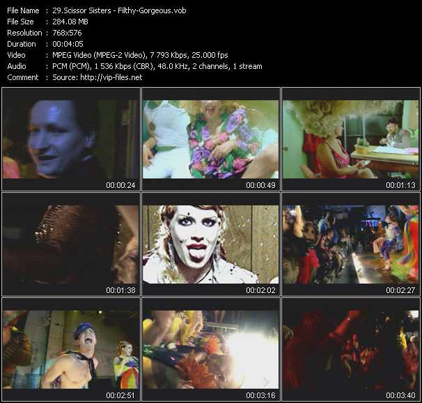 Scissor Sisters video screenshot