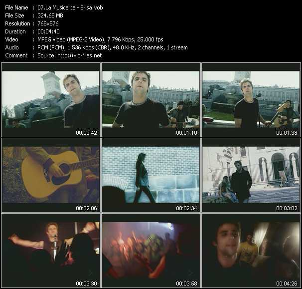 La Musicalite video screenshot