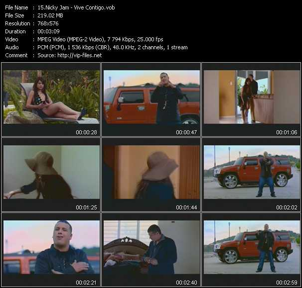 Nicky Jam video screenshot