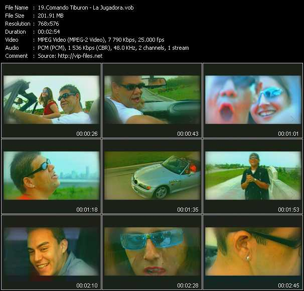 Comando Tiburon video screenshot
