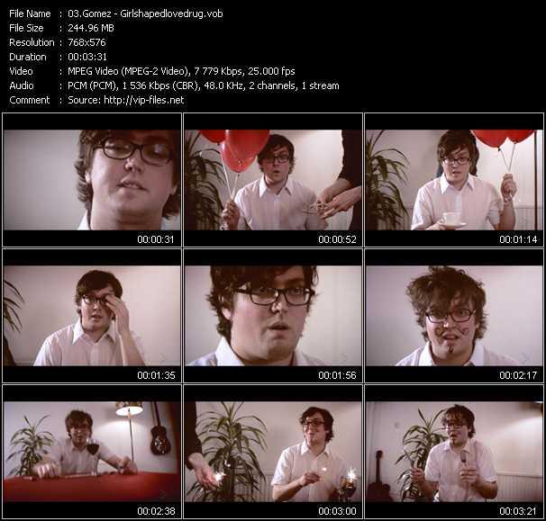 Gomez video screenshot