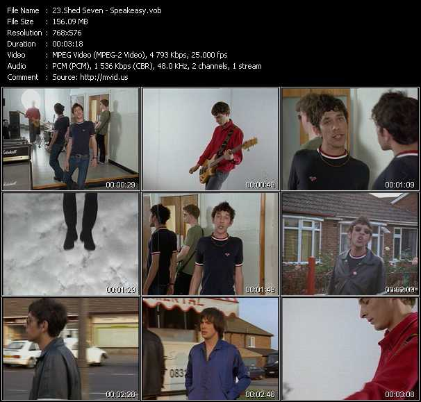 Shed Seven video screenshot