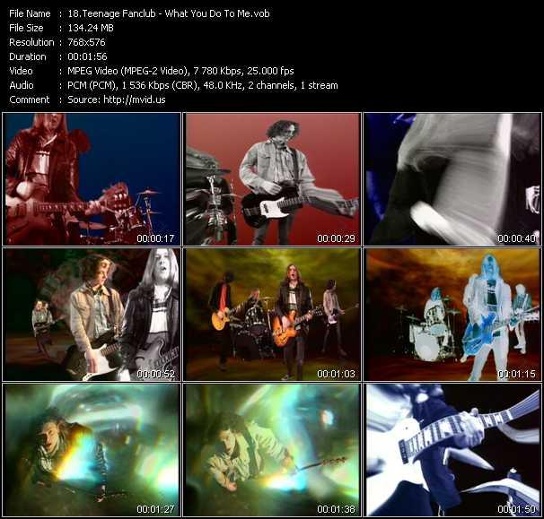 Teenage Fanclub video screenshot