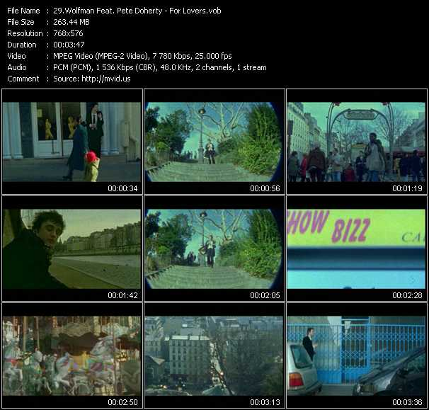 Wolfman Feat. Pete Doherty video screenshot