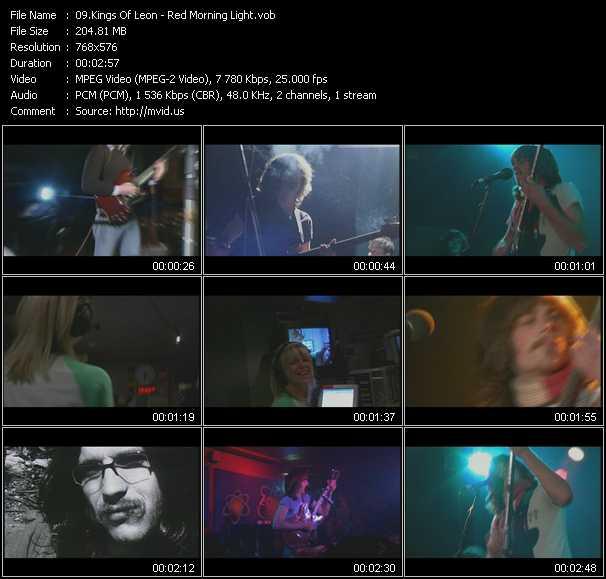 video Red Morning Light screen