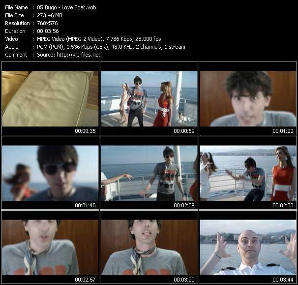 Bugo video screenshot