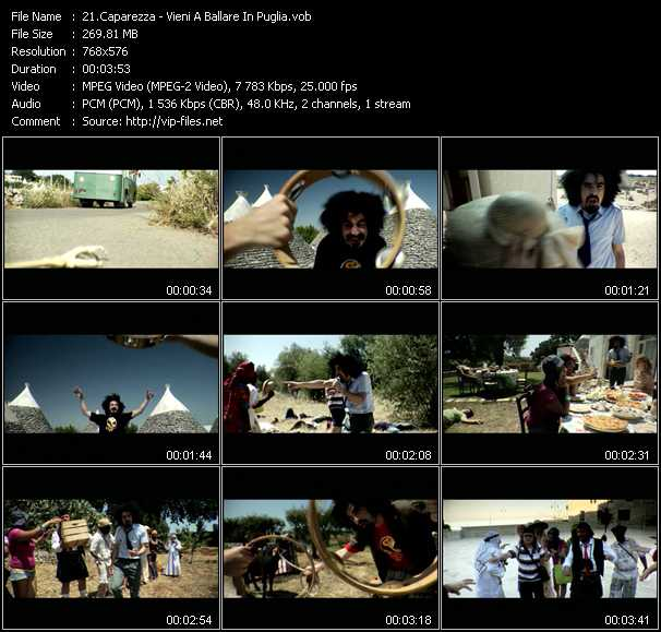 Caparezza video screenshot