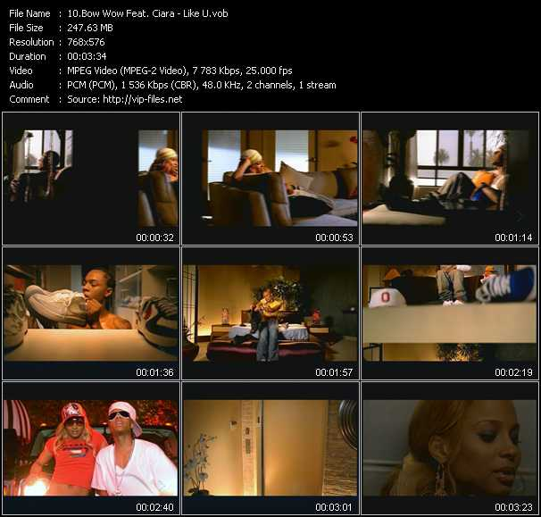 Bow Wow Feat. Ciara video screenshot
