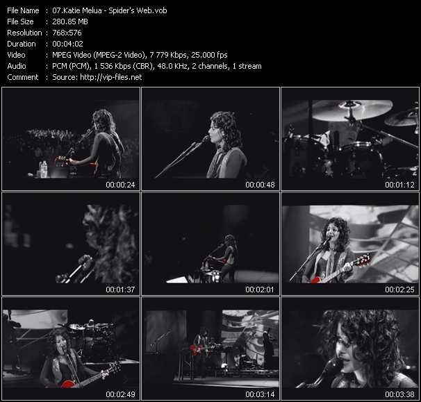 Katie Melua video screenshot