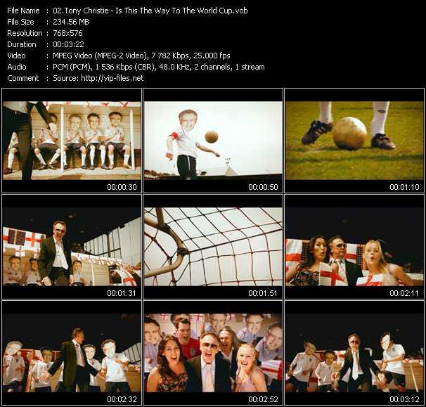 Tony Christie video screenshot