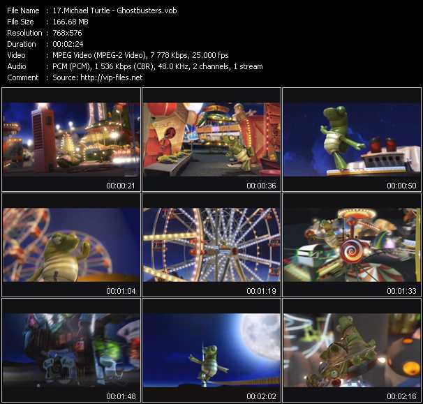 Michael Turtle video screenshot