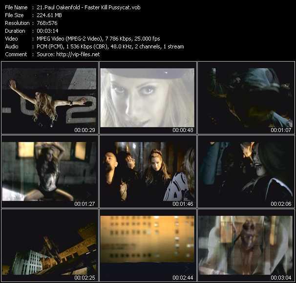 Paul Oakenfold Feat. Brittany Murphy video screenshot
