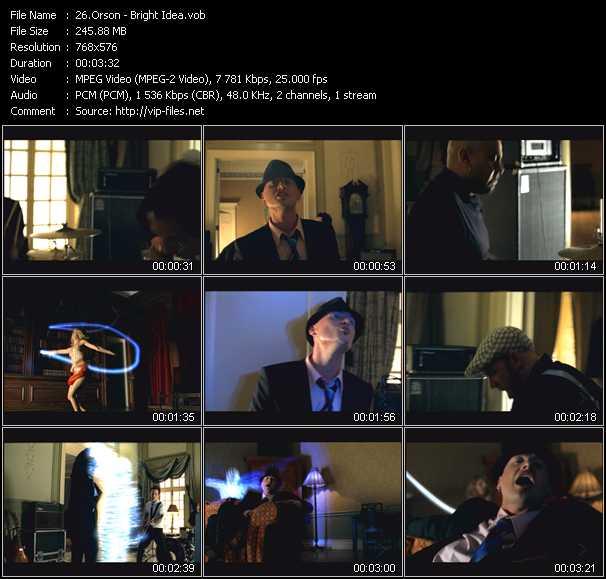 Orson video screenshot